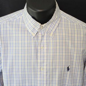 Ralph Lauren Polo Cotton Button Down Oxford Shirt